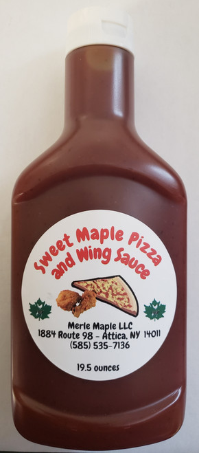 Sweet Maple Pizza & Wing Sauce