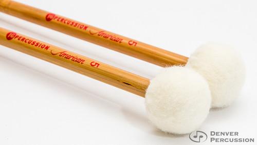 JG Percussion A5 American Series Timpani Mallets – Bamboo