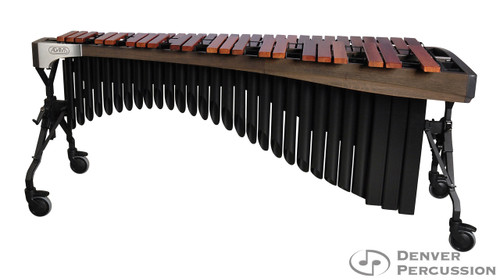 Adams MAHA50/9G1  5.0 Octave Alpha Series Rosewood Marimba, Graphite Rails, Black Resonators
