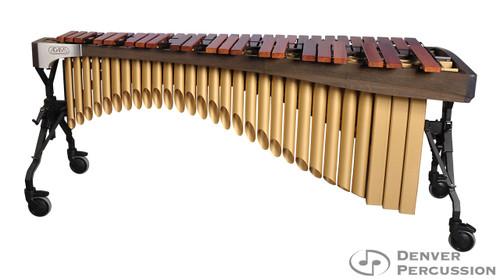 Adams MAHA50/9G3  5.0 Octave Alpha Series Rosewood Marimba, Graphite Rails, Satin Gold Resonators