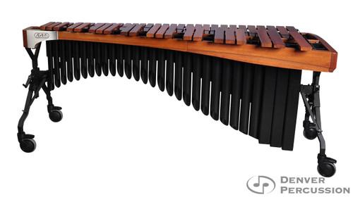 Adams MAHA50/9T1  5.0 Octave Alpha Series Rosewood Marimba, Walnut Rails, Black Resonators