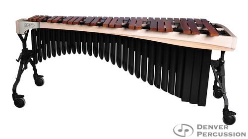 Adams MAHA50/9W1  5.0 Octave Alpha Series Rosewood Marimba, Whitewash Rails, Black Resonators
