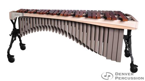 Adams MAHA50/9W2  5.0 Octave Alpha Series Rosewood Marimba, Whitewash Rails, Desert Resonators