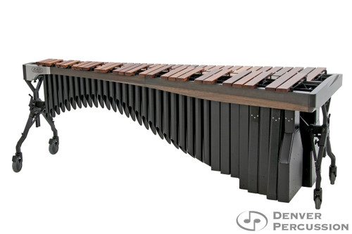 Adams MAHA43/9G1  4.3 Octave Alpha Series Rosewood Marimba, Graphite Rails, Black Resonators