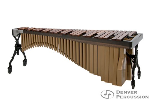 Adams MAHA43/9G3  4.3 Octave Alpha Series Rosewood Marimba, Graphite Rails, Satin Gold Resonators