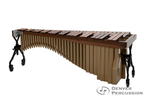 Adams MAHA43/9T3  4.3 Octave Alpha Series Rosewood Marimba, Walnut Rails, Satin Gold Resonators