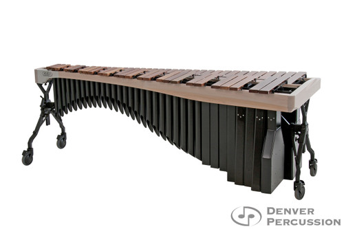 Adams MAHA43/9W1  4.3 Octave Alpha Series Rosewood Marimba, Whitewash Rails, Black Resonators