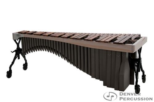 Adams MAHA43/9W2  4.3 Octave Alpha Series Rosewood Marimba, Whitewash Rails, Desert Resonators
