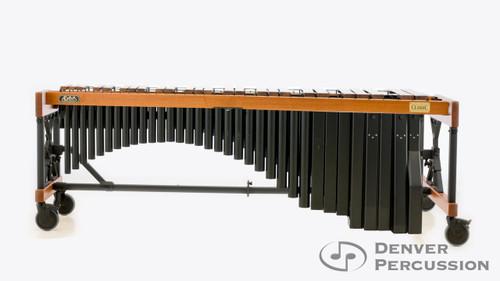 Adams MAHU50 University 5.0 Rosewood Marimba, Oak University Frame, Black Finish Resonators