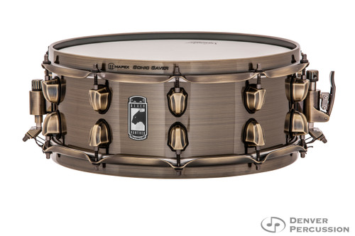 """Mapex BPBR4551ZN Brass Cat Black Panther 14"""" x 5.5"""" Snare Drum"""