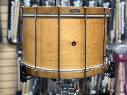 """Used Leedy 10x16"""" 1920's Marching Snare Drum"""