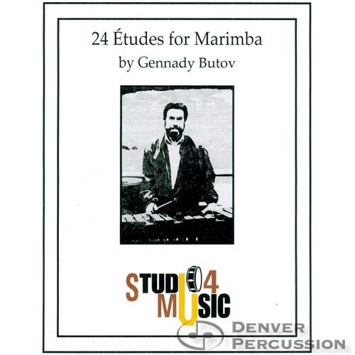 24 Etudes for Marimba by Gennady Butov 03-4960