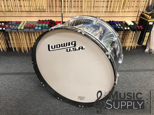 "Vintage Ludwig 90's 16x28"" Marching Bass Drum"