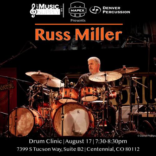 Russ Miller Drum Clinic