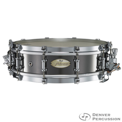 USED Pearl PHB1440 14x4 Philharmonic Brass Snare Drum