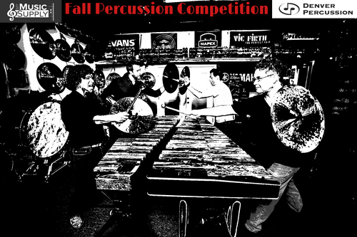 Denver Percussion's First Annual Percussion Competition