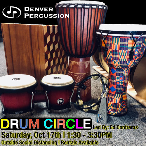 Denver Percussion Socially Distant Drum Circle