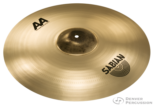"Sabian 2200772B 20"" AA Raw Bell Crash Brilliant Finish"