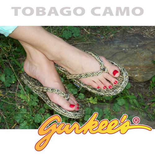 Signature Tobago Camo Rope Sandals