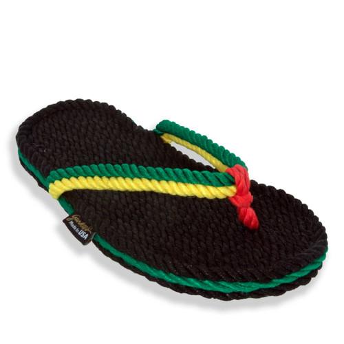 Signature Tobago Rasta Rope Sandals