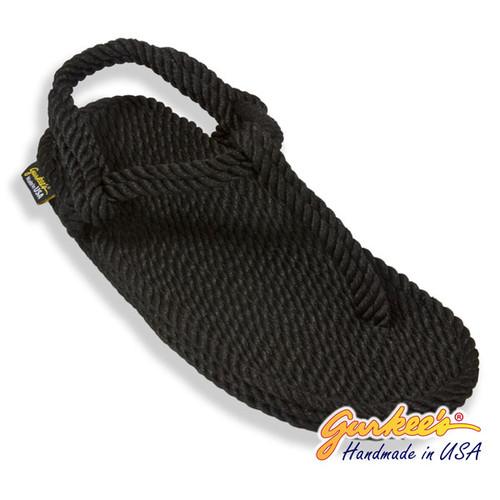 Classic Trinidad Black Rope Sandals