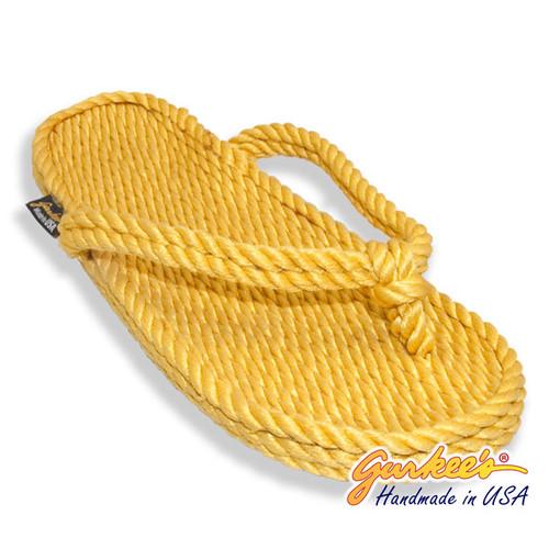Classic Tobago Gold Rope Sandals