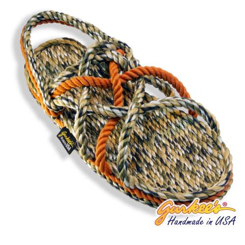 Neptune Autumn Camo Rope Sandals