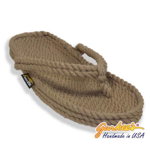 Classic Tobago Khaki Rope Sandals
