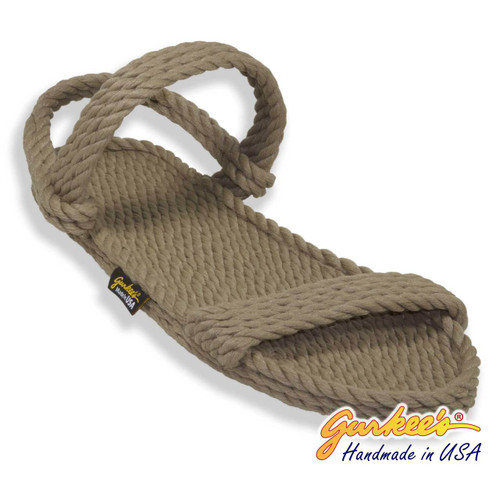 Classic Montego Khaki Rope Sandals