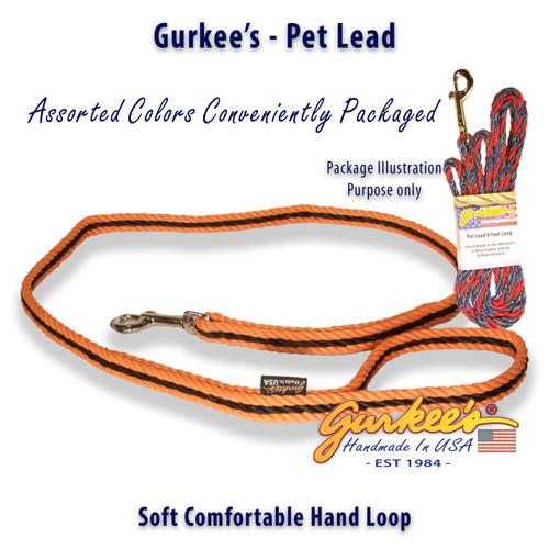 Orange & Black Pro Pet Lead