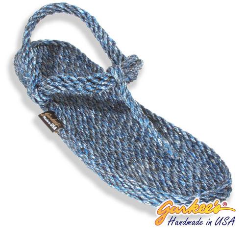 Signature Trinidad Blue Ice Rope Sandals