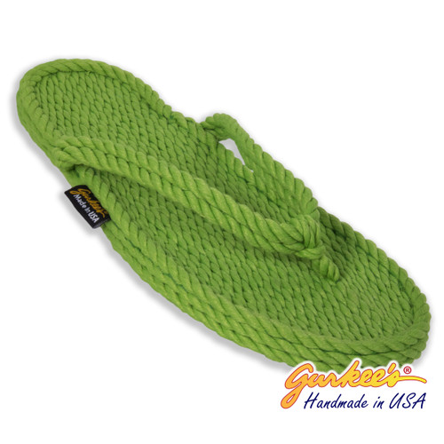 Classic Tobago Key-Lime Rope Sandals