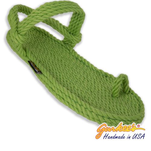 Classic Kona Key-Lime Rope Sandals