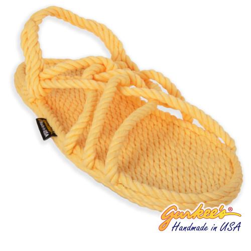 Classic Trinidad Lemonade Rope Sandals