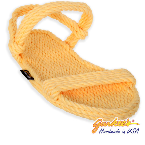 Classic Montego Lemonade Rope Sandals