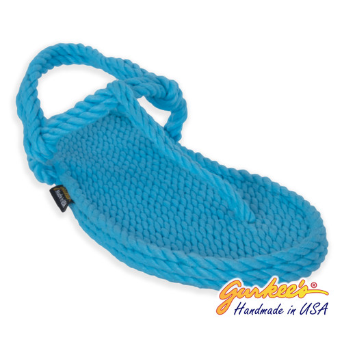 Classic Trinidad Cotton-Candy Rope Sandals