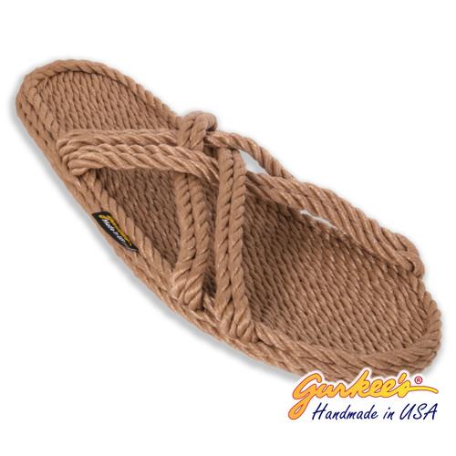 Bahama MOCHA Rope Sandals