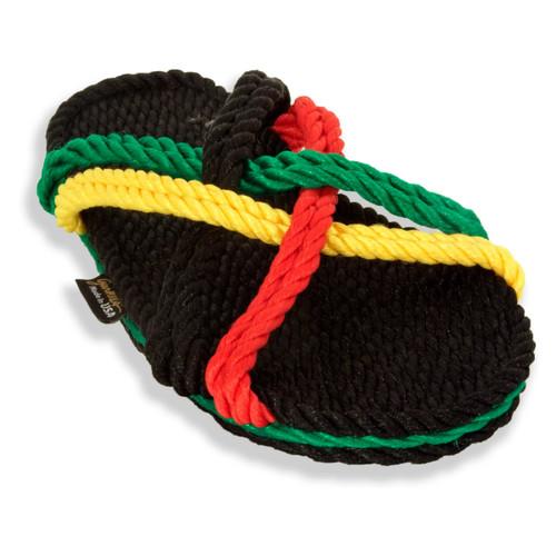 Signature Bahama Rasta Rope Sandals