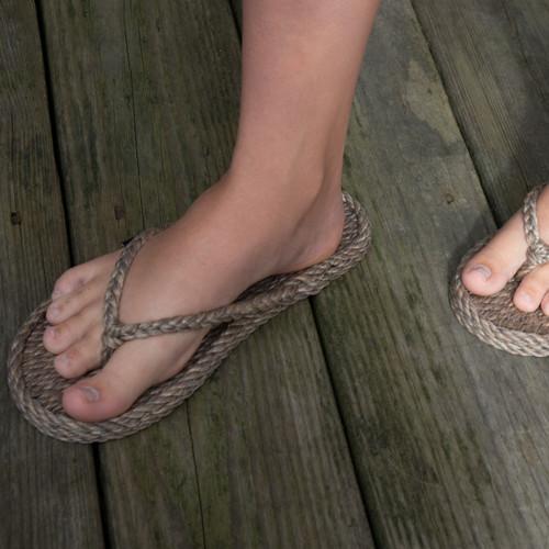 Braided Bunch Tobago Hemp Rope Sandals