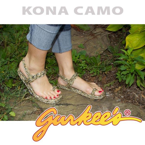 Signature Kona Camo Rope Sandals