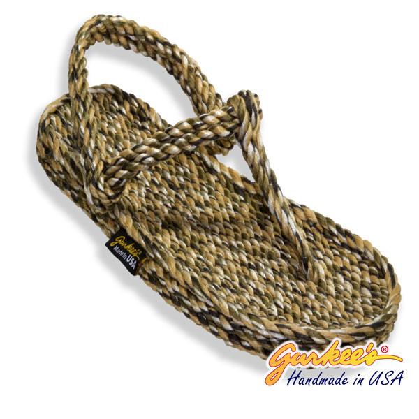 Signature Trinidad Camo Rope Sandals