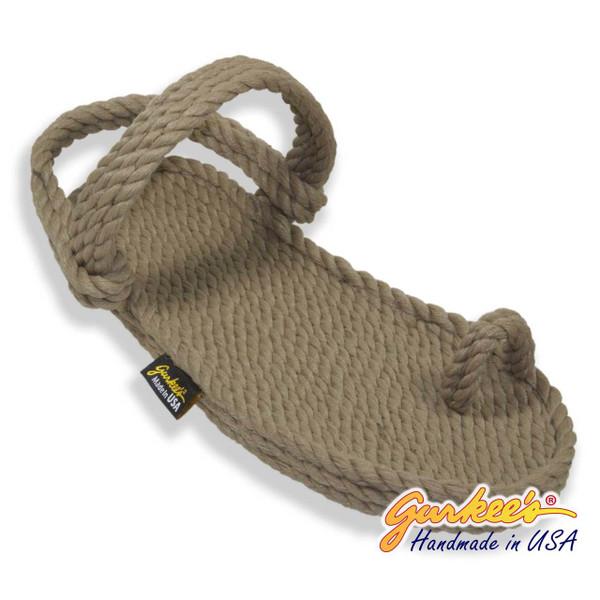 Classic Kona Khaki Rope Sandals