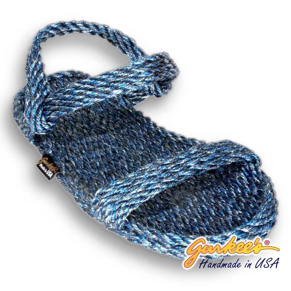 Signature Montego Blue Ice Rope Sandals