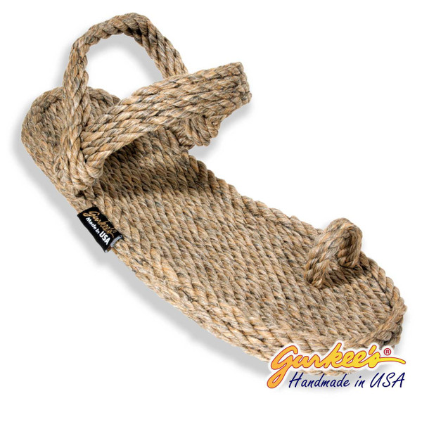 Signature Kona Hemp Color Rope Sandals