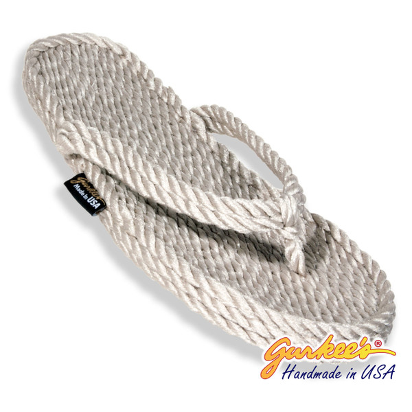 Signature Tobago Platinum Rope Sandals