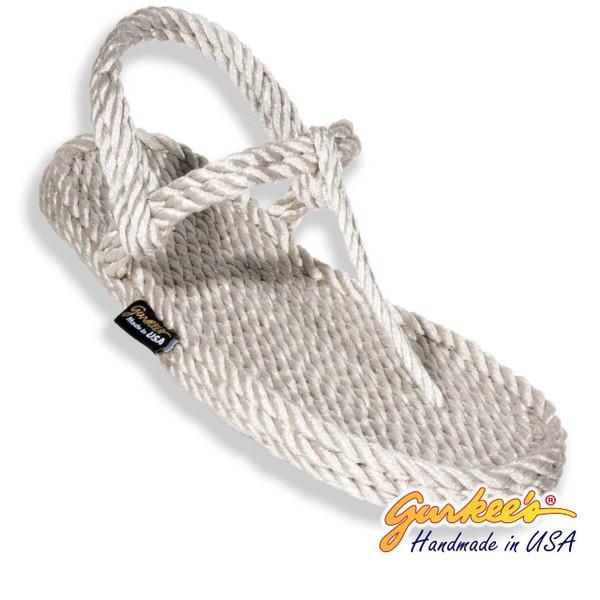 Signature Trinidad Platinum Rope Sandals