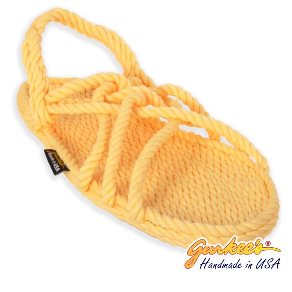 Classic Neptune Lemonade Rope Sandals