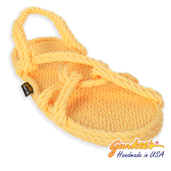 Classic Barbados Lemonade Rope Sandals
