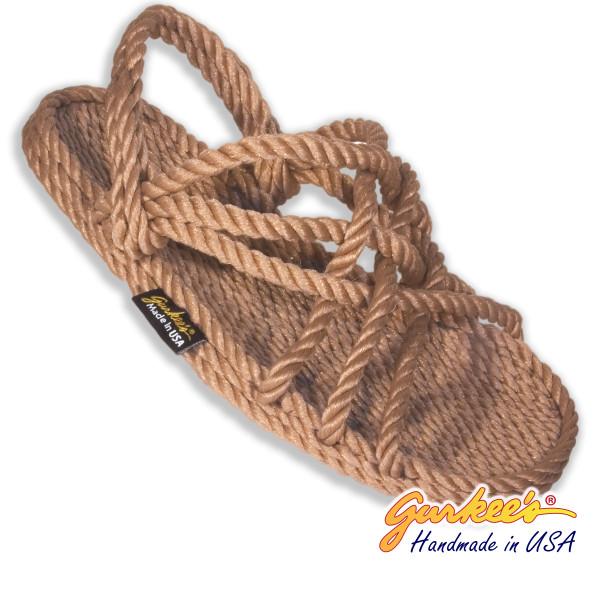 Classic Neptune MOCHA Rope Sandals