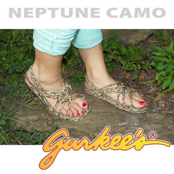 Signature Neptune Camo Rope Sandals